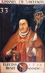 Abt Johannes de Vischach